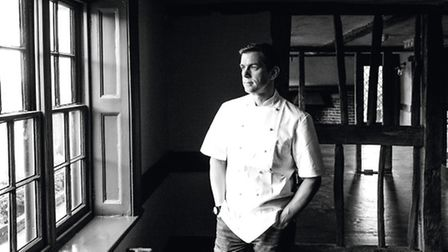 Steve contemplating the scene at what will soon be Sorrel restaurant (Photo: Nick Tucker Photography