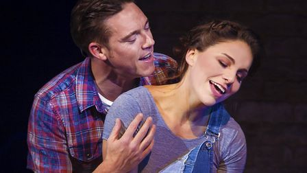 Andy Moss in Ghost the Musical