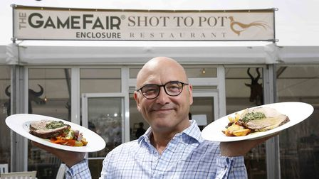 MasterChef's Greg Wallace will be greeting guests at the Shot to Pot restaurant (photo: Philip Holli