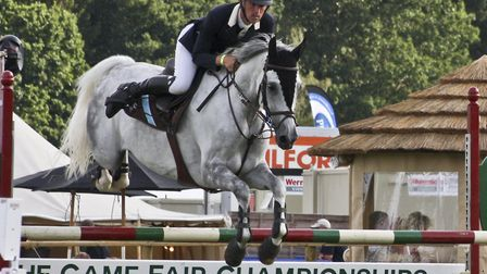 Showjumping is a key event