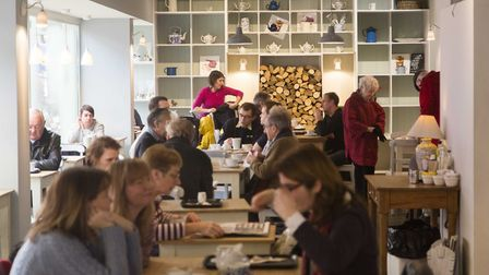 Tonbridge's bustling Finch House scooped Café of the Year 2016 (photo: Rikard Osterlund)