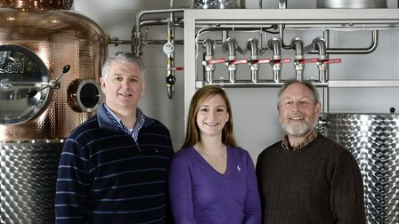 Anno Distillers in Marden won Drink Producer of the Year 2016