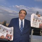 Czechoslovakian-born Brit Robert Maxwell presents the first issue of the weekly transnational newspa