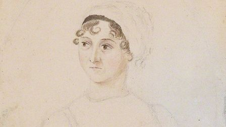 This frank sketch by Jane's sister Cassandra is the only reasonably certain portrait from life. It i