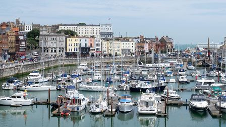 Jane Austen visited Ramsgate in 1803 when it was a garrison town during the Napoleonic wars. It is h