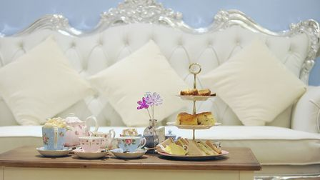 Head for the heights of The Tea Terrace (Photo: House of Fraser)
