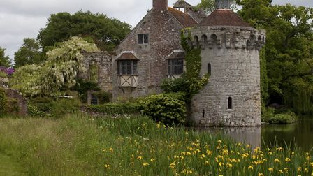 Naturalistic planting with the romantic ruin creates the perfect picture
