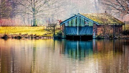 The Old Boathouse, Poynton Pool by Keith Meredith