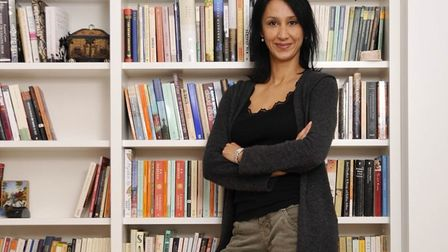 Monica Ali, writer-in-residence at the University of Surrey