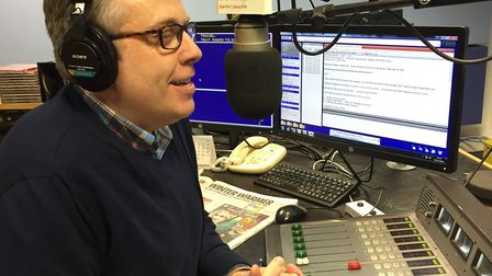 James Cannon on the BBC Surrey Breakfast Show