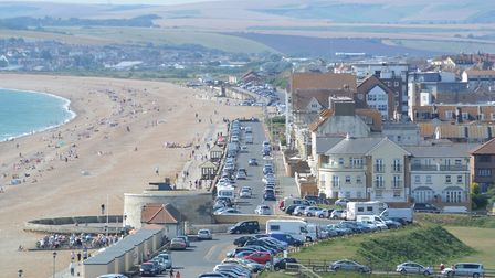 Aerial view of Seaford seafront. Photo by Flightlog