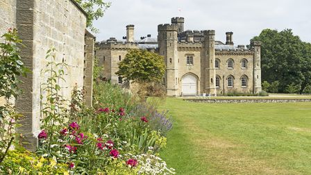 Chiddingstone Castle was remodelled in the 'medieval castle-style' of the early 19th century by a fo