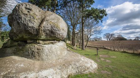 The Chiding Stone is where nagging wives, wrongdoers and witches were publicly scolded by an assembl