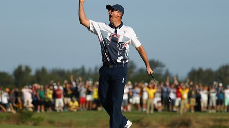 Justin Rose is playing home turf for the first time since his Rio gold (Photo: Scott Halleran/Getty
