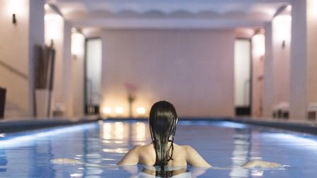 The pool, part of a suite of options in the Akasha Holistic Wellbeing Centre