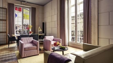 The Regent Suite with views over Regent Street and Westminster