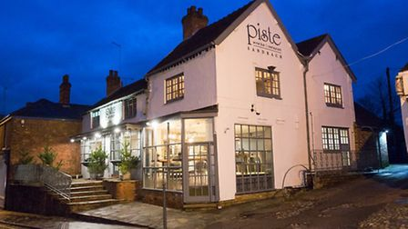 The new Piste restaurant in Sandbach