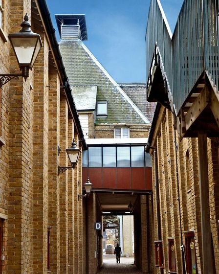 The former malthouses are now an enterprise centre housing more than 150 businesses (photo: French a