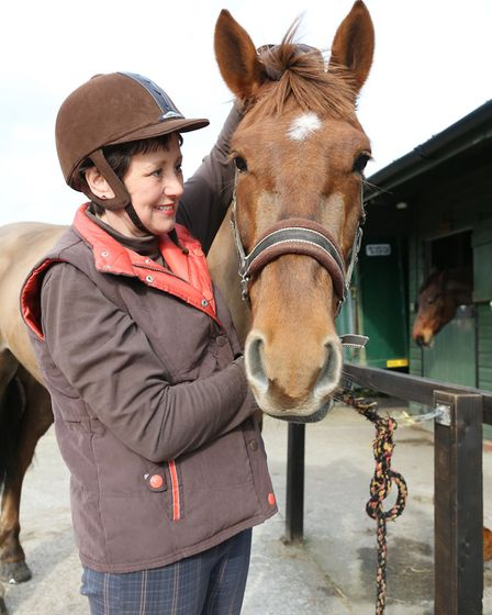 Desensitising a horse to the feel of you touching their ears