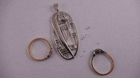 From design to completion! We designed this 9ct white gold Charles Rennie Macintosh inspired pendant