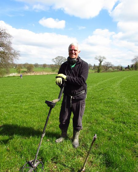 CAPTION: Martin Tobitt, chairman of Crewe and Nantwich Metal Detecting Society. (3)