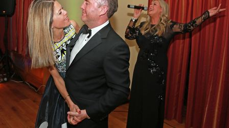 Tim and Lisa Holt take to the dance floor