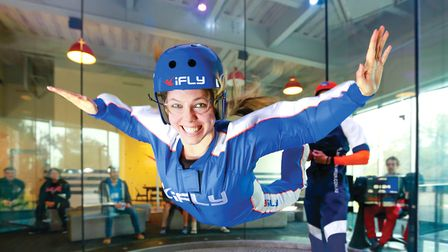 Activities to experience at iFLY in Basingstoke range from skydiving and skiing to surfing