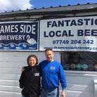 Thames Side Brewery's Andy and Michele
