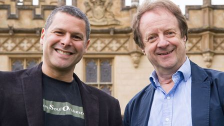 Stephen Hussey and Anthony Inglis
