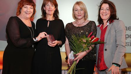 Jacqueline Hughes-Lundy, Alison Loveday (Professional and Financial Services Award Winner), Angela P