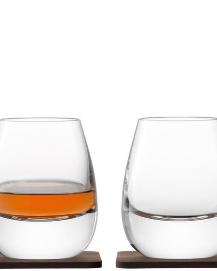 On the nose Designed to concentrate and enhance the aromas of fine whisky LSA Whisky Islay Tumbler
