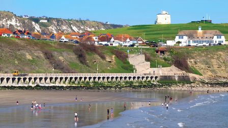 Folkestone has a wide selection of south-facing beaches including a sandy beach near the harbour