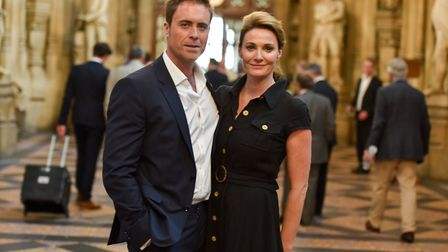 Jim Murray and Sarah Parish are raising funds for a new paediatric A&E unit in Southampton