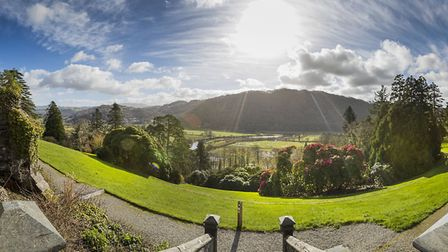 This year's North Wales Festival of Gardens will be launched at Plas Tan y Bwlch (image: Mike Dean)