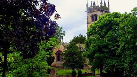 Church of St. James the Great in Gawsworth by Gillian Baker