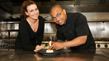 Lucy and Phil Williams of The Straits Restaurant