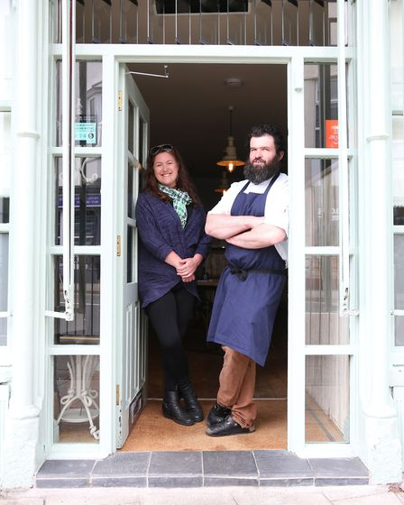 Bethan and Stephen Stevens of Sosban and the Old Butcher's Restaurant