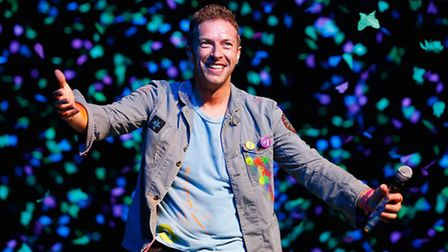 Chris Martin (Photo by Shane Wenzlick/Getty Images).
