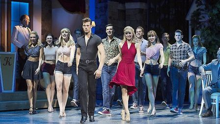 The cast of Dirty Dancing