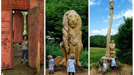 Narnia trail opens at new Banstead Woods and Chipstead Downs Nature Reserve