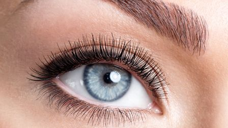 Brows ahnd lashes are as big and bold as ever