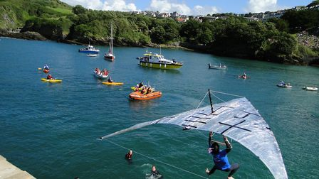Take to the skies for Ilfracombe's South West Birdman 2015