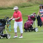 Golf helps you keep fit and active. A player can walk 4-5 miles and burn 900 calories over 18 holes