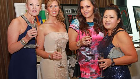 Kate Holland, Alison Tennant, Kirsty Godrich and Zoe Nixon
