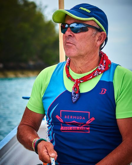 """Steve Lock is """"living the dream"""", travelling the world instructing gig rowers"""