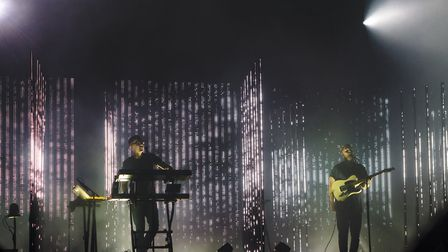 Alt-J closing the festival on the Lovell Stage