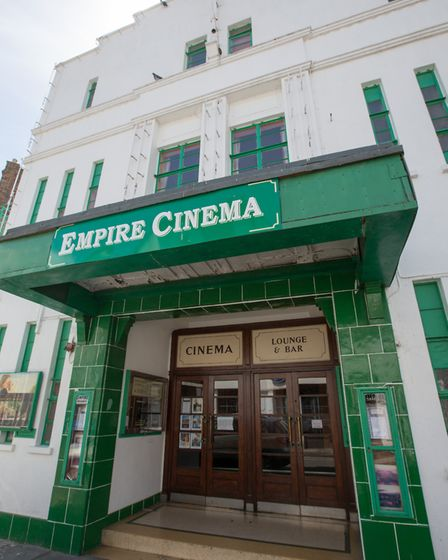 The Sandwich Empire Theatre is a piece of living history, unchanged since the 1930s