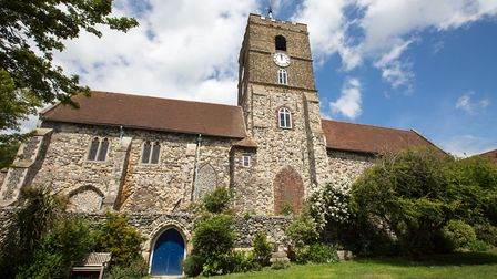 St Peter's Church, now classified as 'redundant', is used for a range of public events such as art a