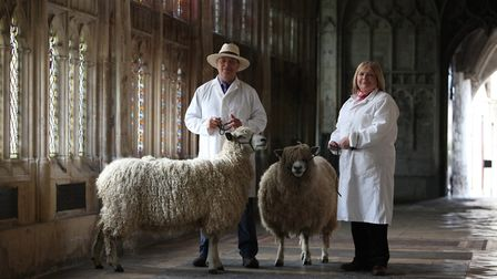 Steve and Lynne Parkes at Gloucester Cathedral (c) Royal Three Counties Show