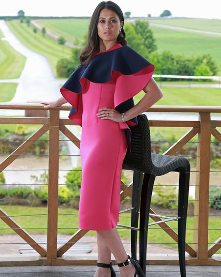 Dress priced from £350, by Matthew OBrien, www.mattobrien.co.uk Shoes, stylists own